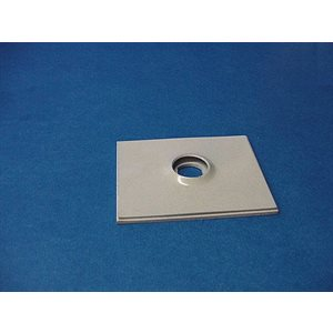1 / 4 TURN COIN BOX FACE PLATE-O