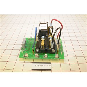 115V SPST CONTACTOR A.S. BOARD